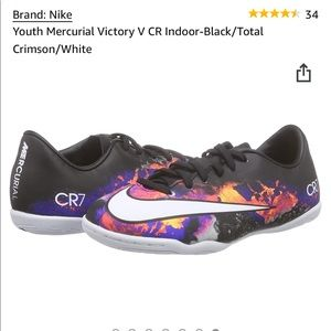 Nike-Youth Indoor Soccer Shoes